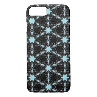 Caso del iPhone del modelo de estrella azul Funda Para iPhone 8/7