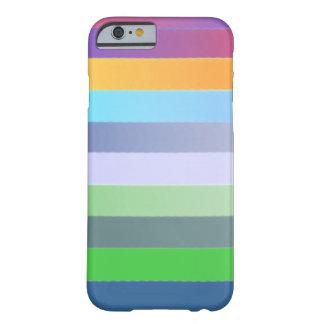 Caso del iphone del multicolor funda barely there iPhone 6