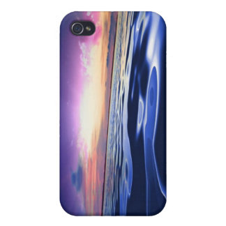 Caso del iPhone del mundo del agua iPhone 4/4S Funda
