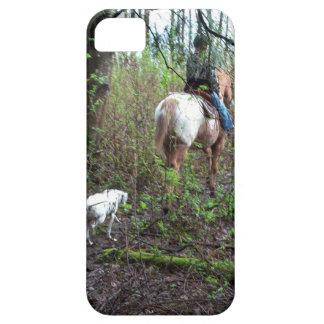 Caso del iPhone del paseo del rastro del caballo Funda Para iPhone SE/5/5s