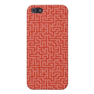 Caso del iphone del Squiggle iPhone 5 Protectores