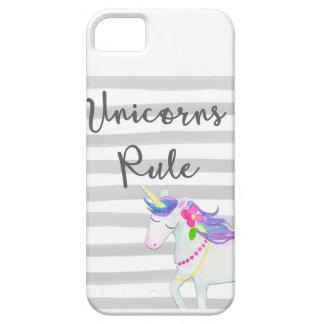 Caso del iphone del unicornio funda para iPhone SE/5/5s