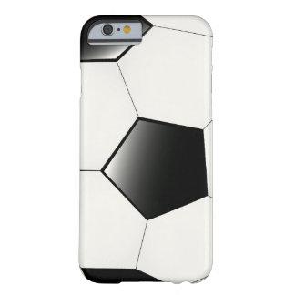 Caso del iPhone fresco 6 del fútbol/del fútbol Funda De iPhone 6 Barely There