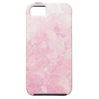 caso del iPhone - suavemente rosa - floral Funda Para iPhone SE/5/5s