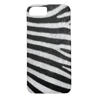 caso del iPhone, textura de la cebra Funda iPhone 7