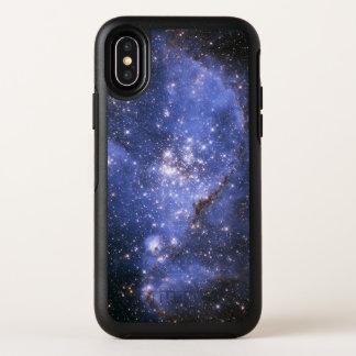 Caso del iPhone X de OtterBox de la nebulosa de