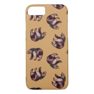 Caso del lanzamiento del oso funda iPhone 7