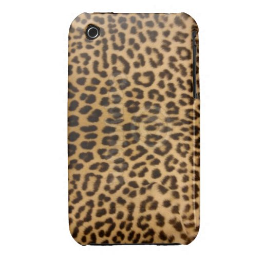 Caso del leopardo iPhone3G/3GS iPhone 3 Case-Mate Protector