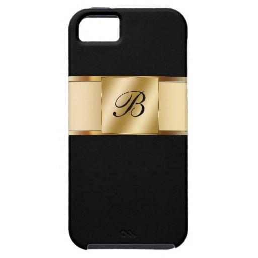 caso del monograma del iPhone 5 iPhone 5 Case-Mate Carcasa