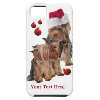 Caso del navidad del iPhone 5 del perrito de Funda Para iPhone SE/5/5s
