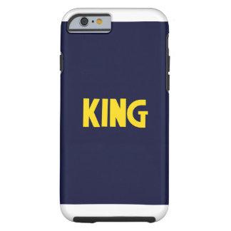 Caso del rey funda de iPhone 6 tough