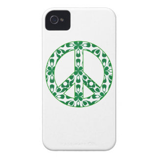 caso del signo de la paz del iPhone 4 iPhone 4 Case-Mate Fundas