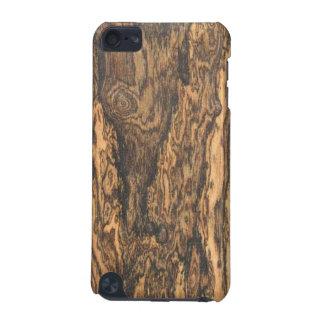 Caso del tacto de iPod del final de Bocote madera