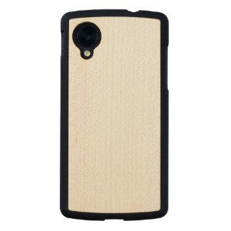 Caso delgado de madera del nexo 5 de Google Funda De Nexus 5 Carved® Slim De Arce