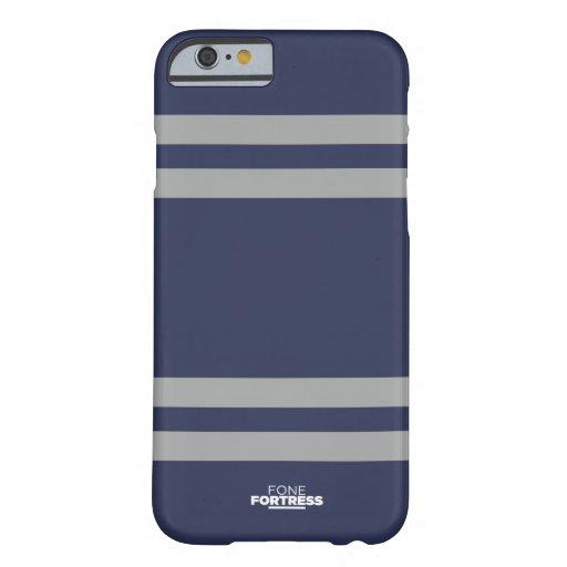Caso delgado del iPhone 6 de Stripey Funda De iPhone 6 Barely There