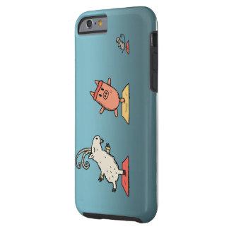 caso divertido animal iphone6 funda resistente iPhone 6