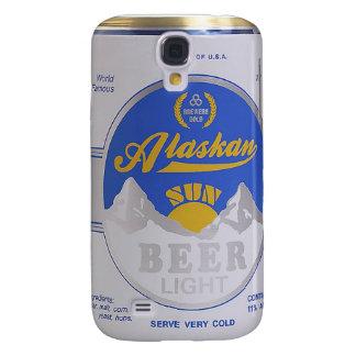Caso divertido del iPhone 3G de la lata de cerveza Funda Para Galaxy S4