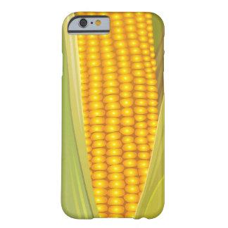 Caso divertido del iPhone 6 del maíz Funda De iPhone 6 Barely There