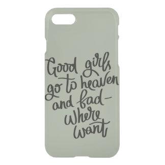Caso divertido del iphone 7 de los buenos chicas funda para iPhone 7