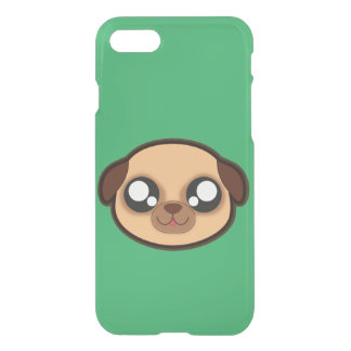 Caso divertido del perro de Kawaii para el iphone Funda Para iPhone 8/7