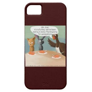 Caso divertido iPhone5 de la acción de gracias del iPhone 5 Case-Mate Coberturas