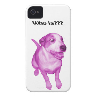 Caso divertido perro divertido iPhone 4 funda