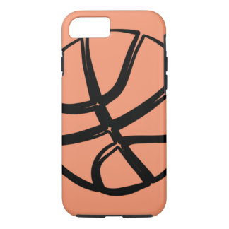 Caso duro 6 del iPhone 7 de la bola de la cesta Funda iPhone 7