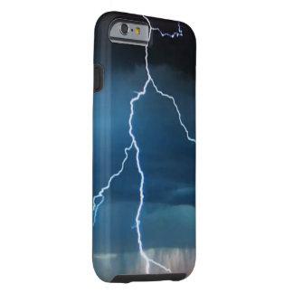Caso duro del iPhone 6/6S del relámpago Funda Resistente iPhone 6