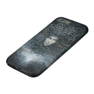 Caso duro del iPhone 6 del Cyborg de la medusa Funda Resistente iPhone 6