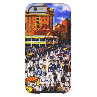 Caso duro del iPhone 6 del viaje de Atlantic City Funda Resistente iPhone 6
