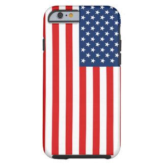 Caso duro del iPhone de la bandera americana Funda Resistente iPhone 6