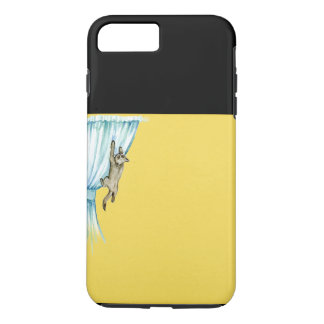 Caso duro del iPhone del gato Funda Para iPhone 8 Plus/7 Plus