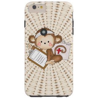 Caso duro más del iPhone 6 del doctor Monkey Funda De iPhone 6 Plus Tough
