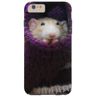 Caso duro más del iPhone 6 del ratón de Marty Funda Resistente iPhone 6 Plus