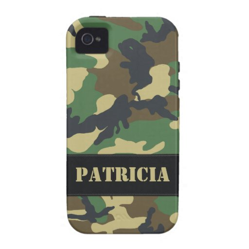 Caso duro militar adaptable del iPhone 4 de Camo Case-Mate iPhone 4 Funda