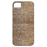 Caso egipcio antiguo del diseñador de los jeroglíf iPhone 5 Case-Mate coberturas