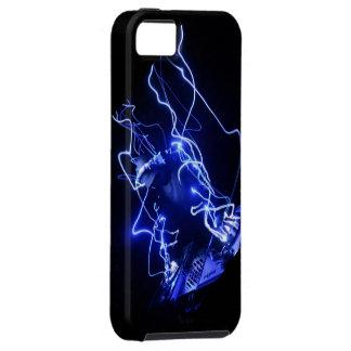 Caso eléctrico del iPhone 5 de DJ iPhone 5 Case-Mate Protectores