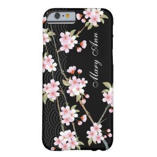 Caso elegante del iPhone 6 de las flores de cerezo Funda De iPhone 6 Barely There