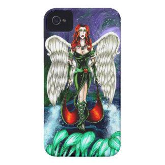 """Caso esmeralda del iPhone 4 del ángel por """"Barely iPhone 4 Case-Mate Carcasa"""