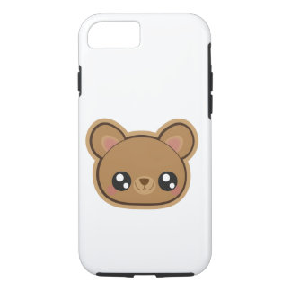 Caso fácil y del kawaii del oso iphone7 funda para iPhone 8/7