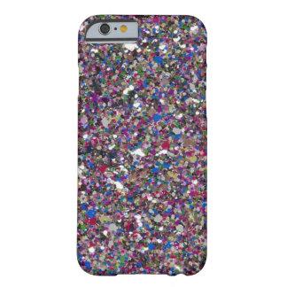 Caso femenino del iPhone 6 de las chispas del Funda Barely There iPhone 6