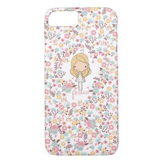 Caso femenino del iPhone 7 de la princesa Funda iPhone 7