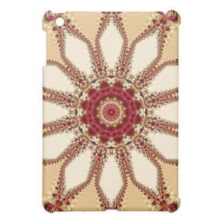 Caso floral del iPad del cordón de Digitaces