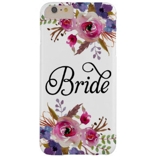 Caso floral del iPhone 6/6s de la casamata del Funda Barely There iPhone 6 Plus