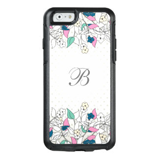 Caso floral del iPhone 6/6s de OtterBox del Funda Otterbox Para iPhone 6/6s