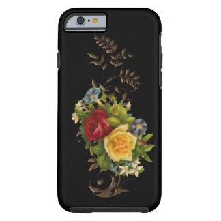 Caso floral del iPhone 6 del vintage Funda De iPhone 6 Tough