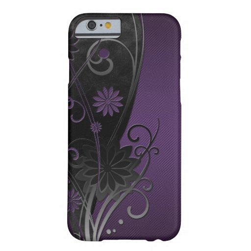 Caso floral del iPhone 6 Funda De iPhone 6 Barely There