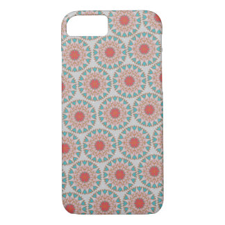 Caso floral Folksy del iPhone 7 del lunar Funda iPhone 7