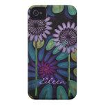 Caso floral fresco del iPhone 4 Carcasa Para iPhone 4