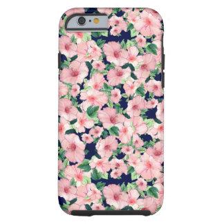 Caso floral rosado iPhone6 Funda Resistente iPhone 6